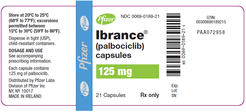 PRINCIPAL DISPLAY PANEL - 125 mg Capsule Bottle Label